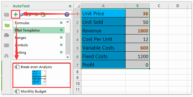 Break even Analysis formula Excel Lovely How to Do Break even Analysis In Excel