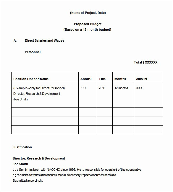 Budget Proposal Sample for event Awesome Bud Proposal Templates 18 Free Word Pdf format