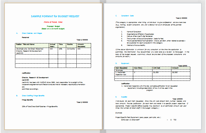 Budget Proposal Sample for event Best Of Document Templates October 2015