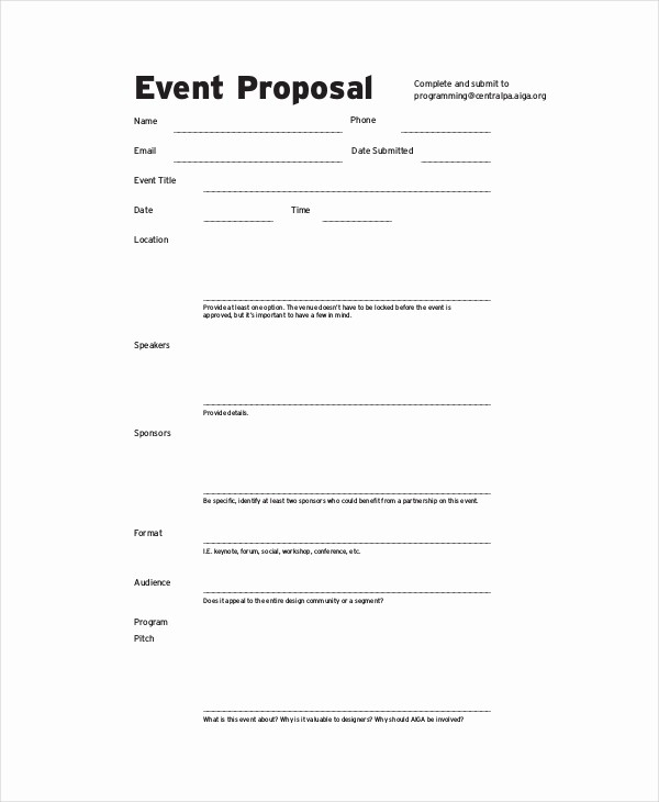 Budget Proposal Sample for event Inspirational 10 Bud Proposal Examples Pdf Word Pages