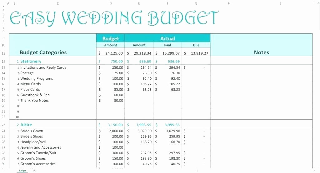 Budget Vs Actual Template Excel Awesome Bud Vs Actual Spreadsheet Template – Illwfo