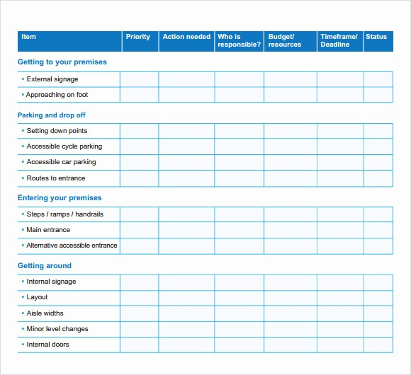 Business Action Plan Template Word Elegant Business Action Plan Template 5 Download Free Documents