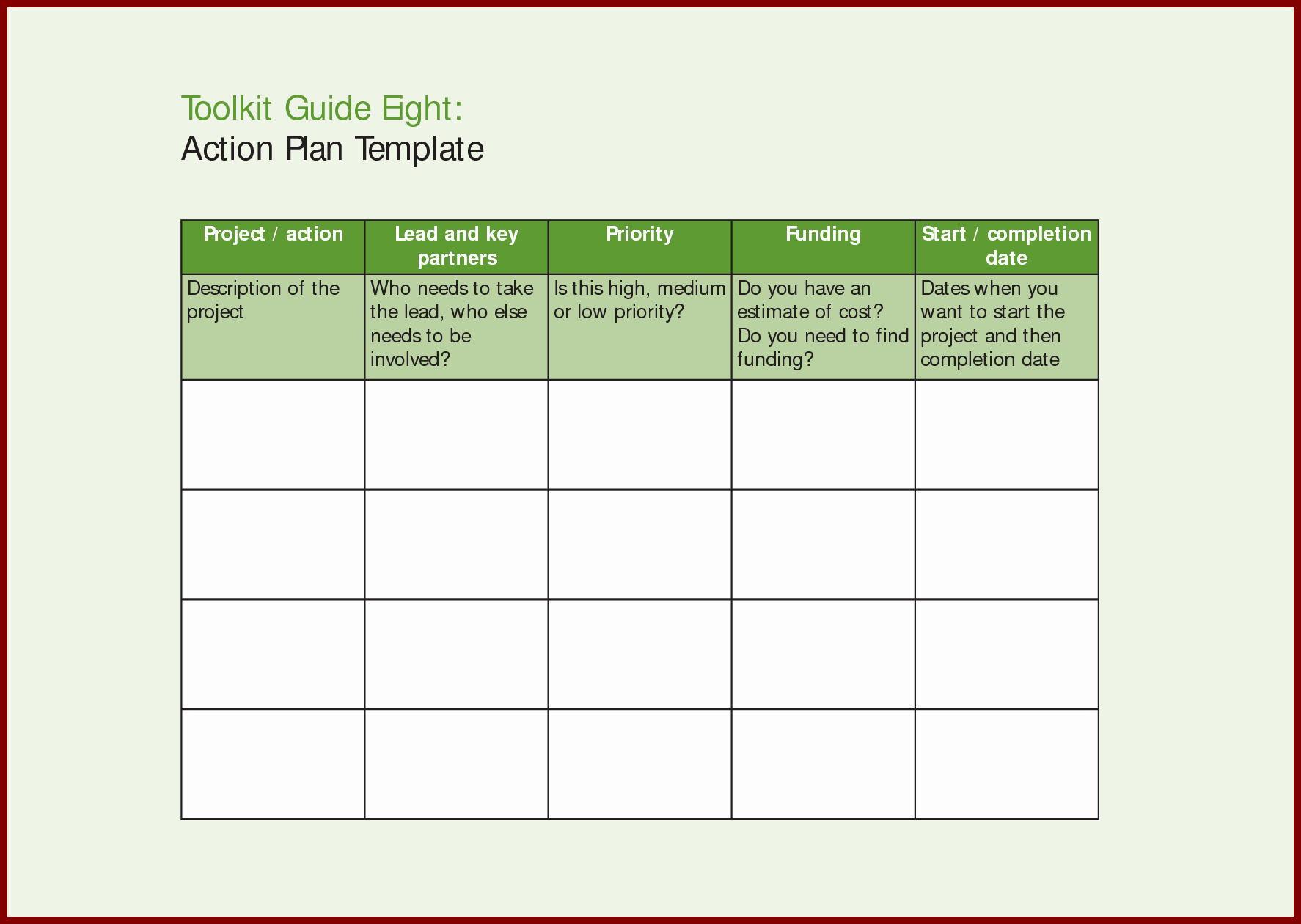 Business Action Plan Template Word Unique Action Plan Sample Template Mughals