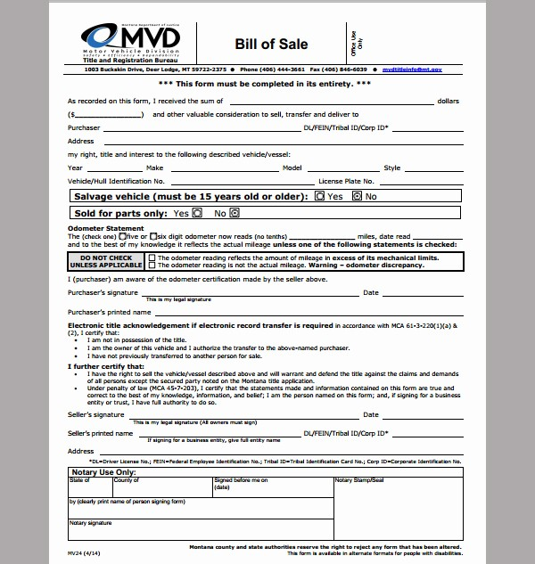 Business Bill Of Sale Example New Bill Of Sale Template for Business format Of Business