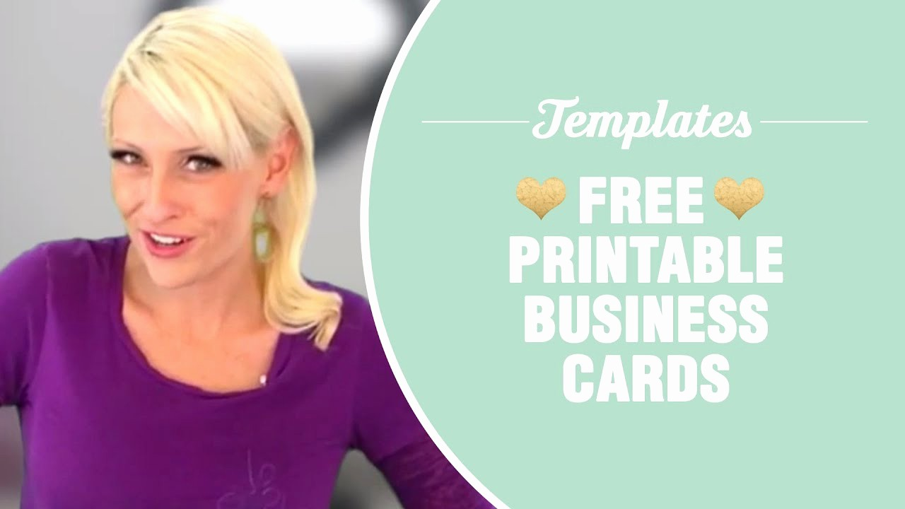 Business Card Template Free Printable Awesome Free Printable Business Cards Templates Included