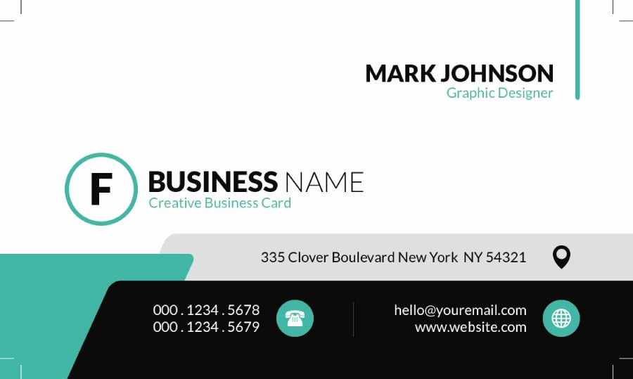 Business Card Template Free Printable Elegant 40 Free Business Card Templates Template Lab