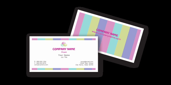 business cards templates free word