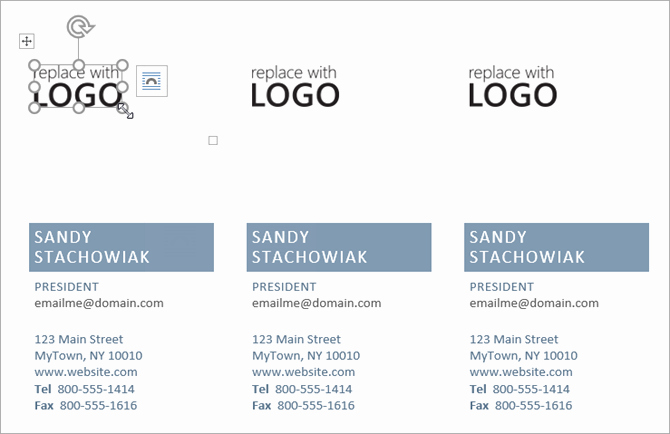 Business Card Template In Word New How to Make Free Business Cards In Microsoft Word with