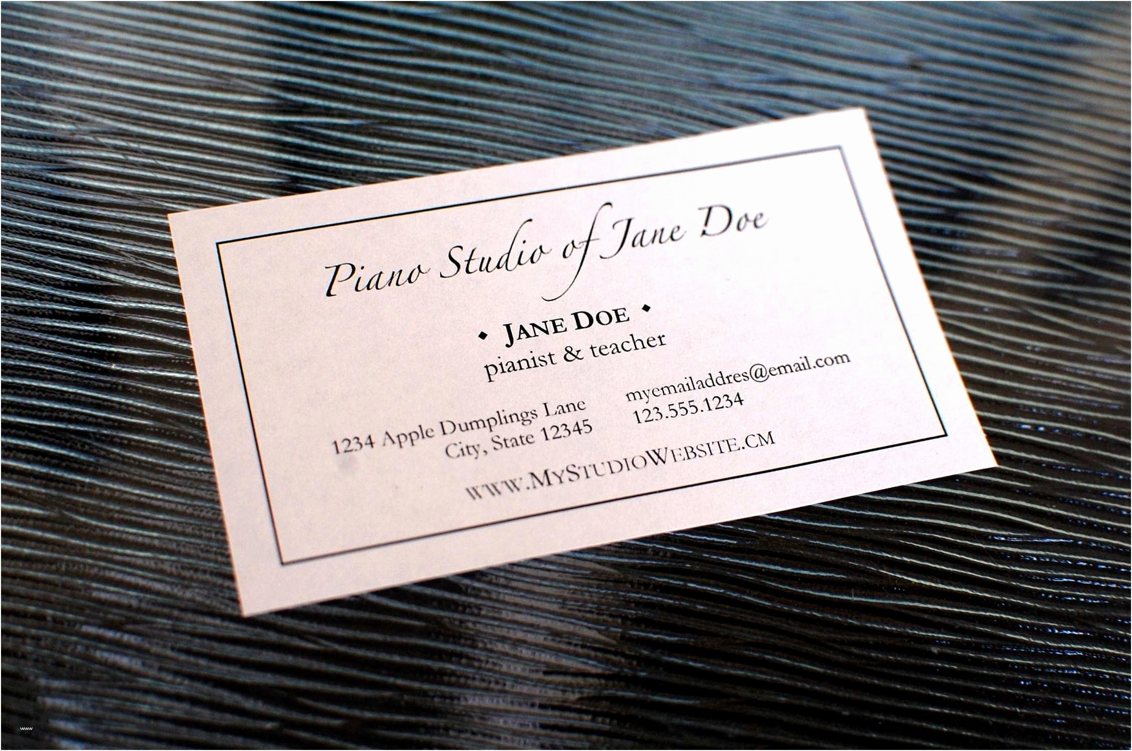 Business Card Template Word Doc Fresh Substitute Teacher Business Card Template Beautiful Word