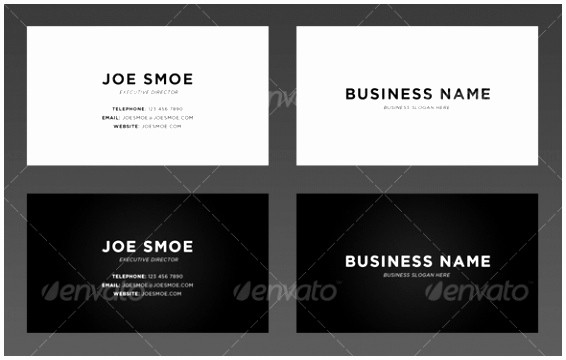 Business Card Template Word Doc New 6 Simple Business Card Template Word Mwoup