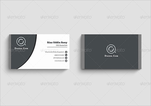 Business Card Template Word Doc Unique Visiting Card Template 19 Free Sample Example format