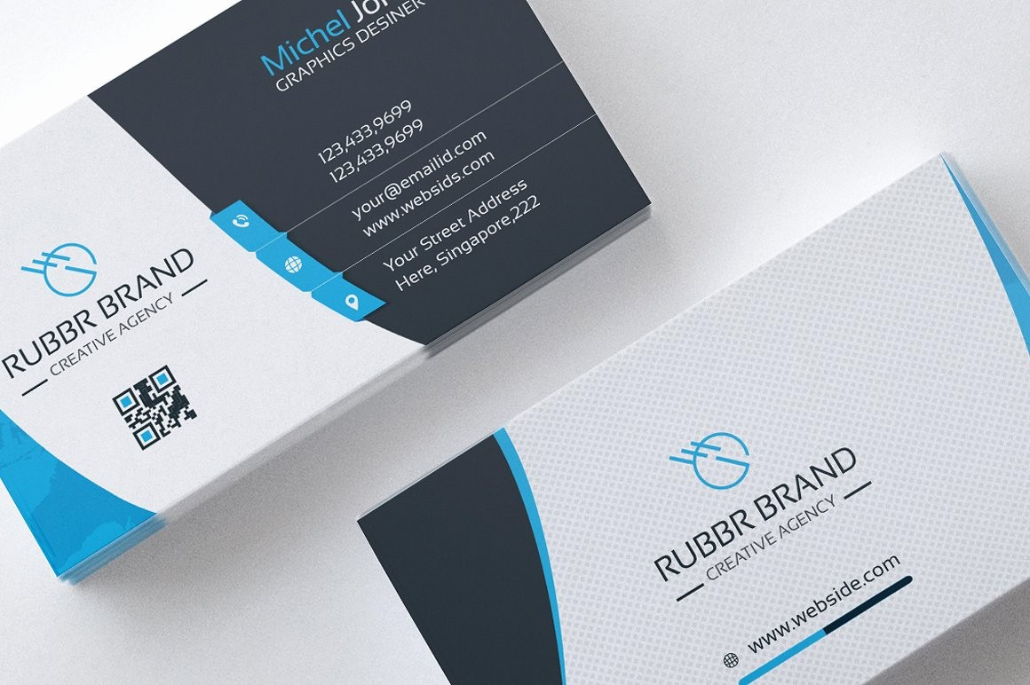 Business Card with Picture Template Beautiful Business Card Template