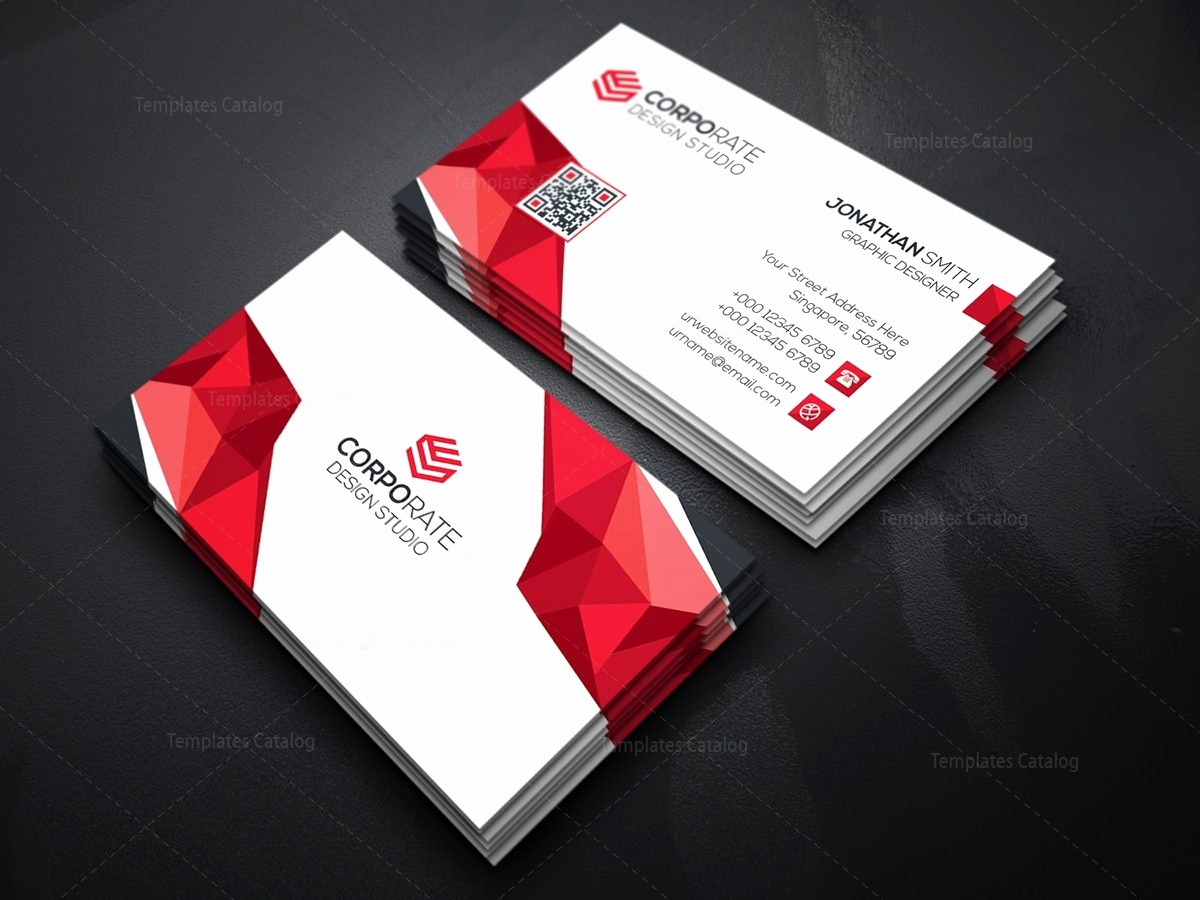Business Card with Picture Template Beautiful Diamond Creative Business Card Template Template