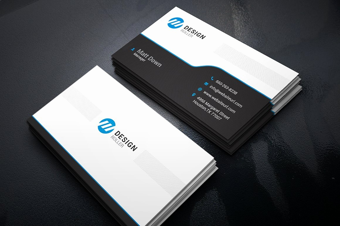 Business Card with Picture Template Beautiful Simple Business Card Template Business Card Templates