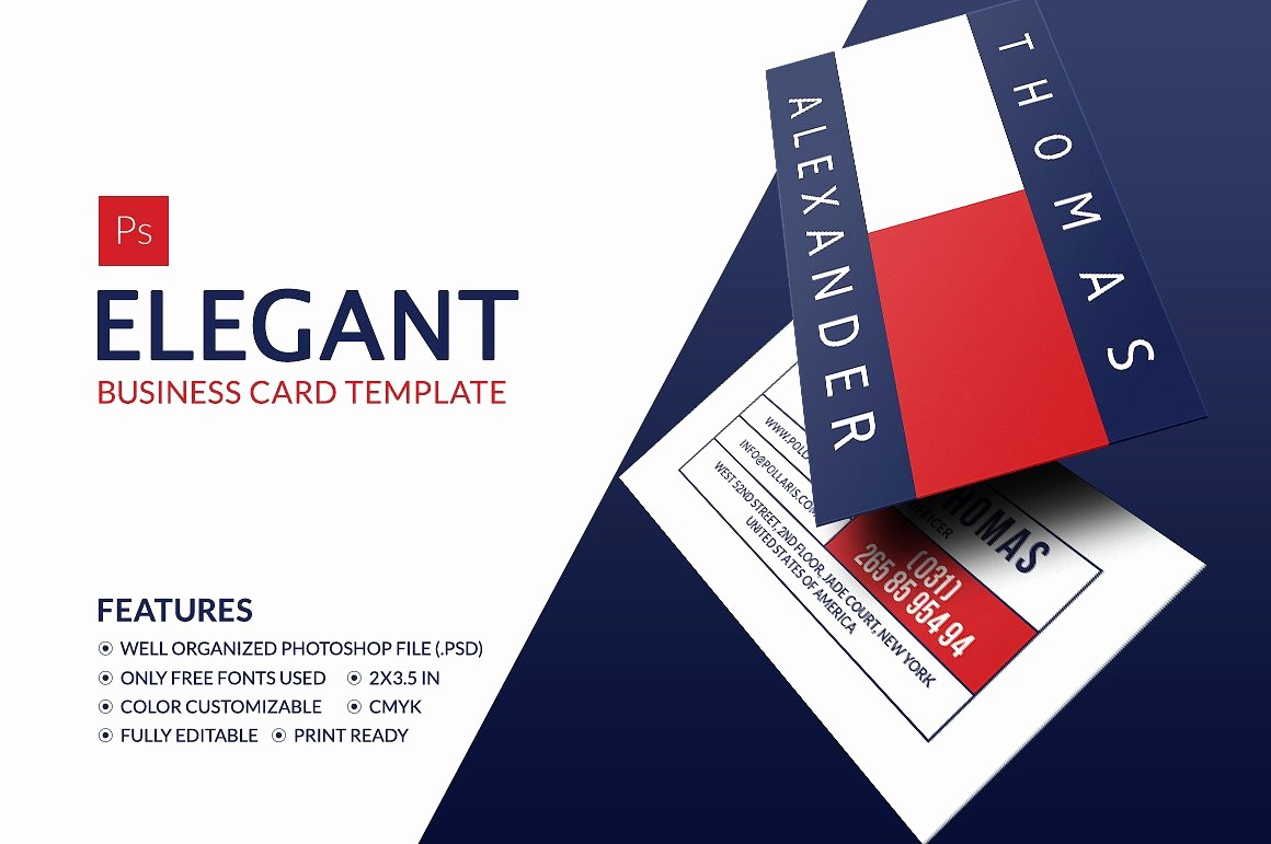 Business Card with Picture Template Best Of Elegant Business Card Business Card Templates Creative