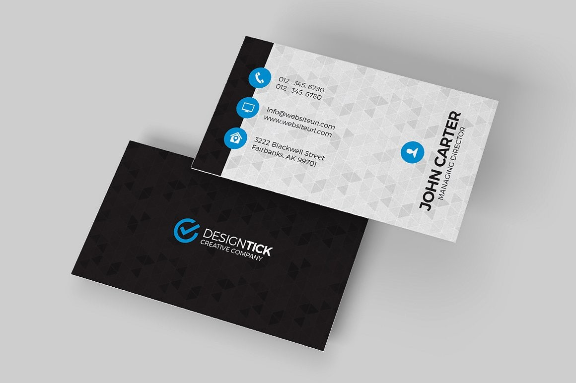 Business Card with Picture Template Best Of Modern Business Card Template Business Card Templates
