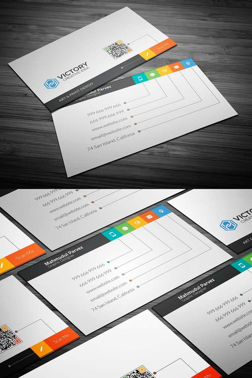 Business Card with Picture Template Elegant 20 Free Printable Templates for Business Cards