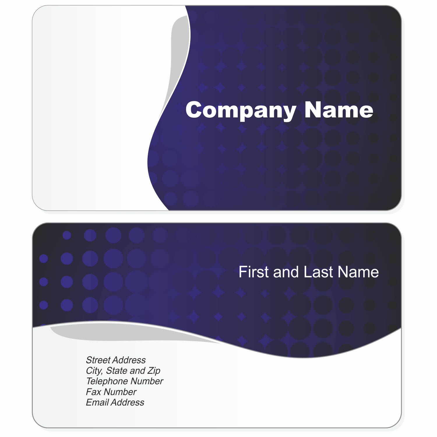 Business Card with Picture Template Fresh Business Card Template Fotolip Rich Image and Wallpaper