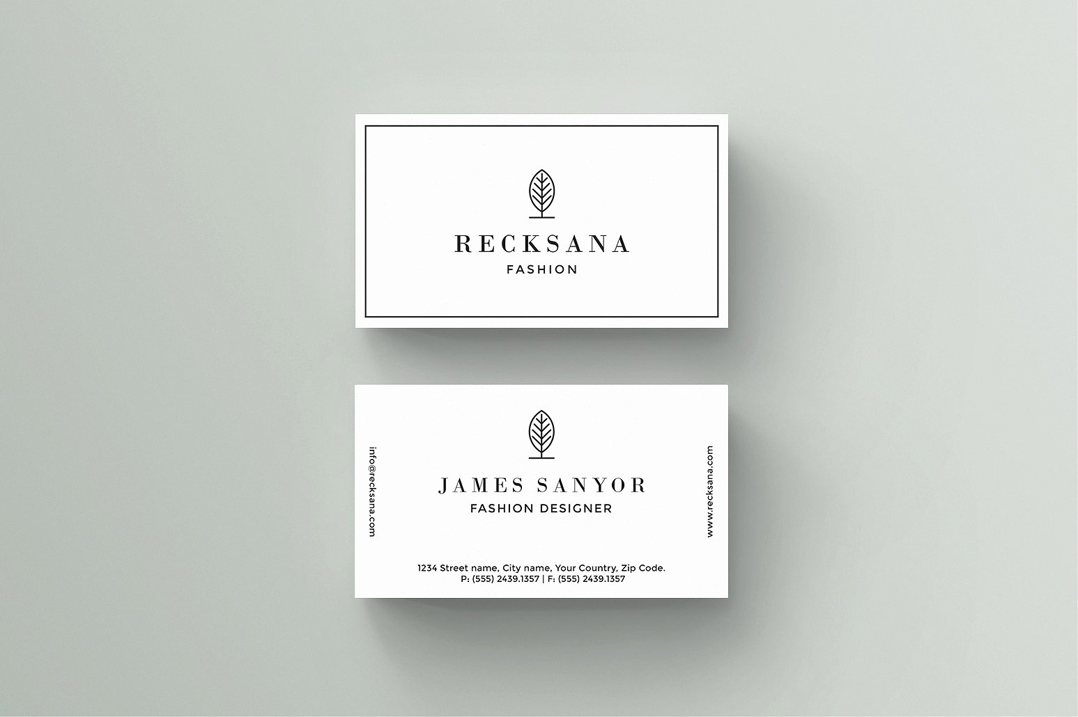 Business Card with Picture Template Lovely Recksana Business Card Template Business Card Templates
