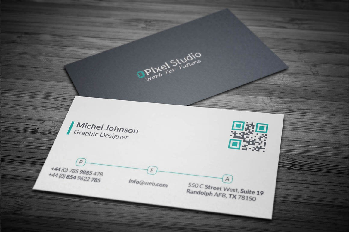 Business Card with Picture Template Luxury Modern Corporate Business Card Template Inspiration