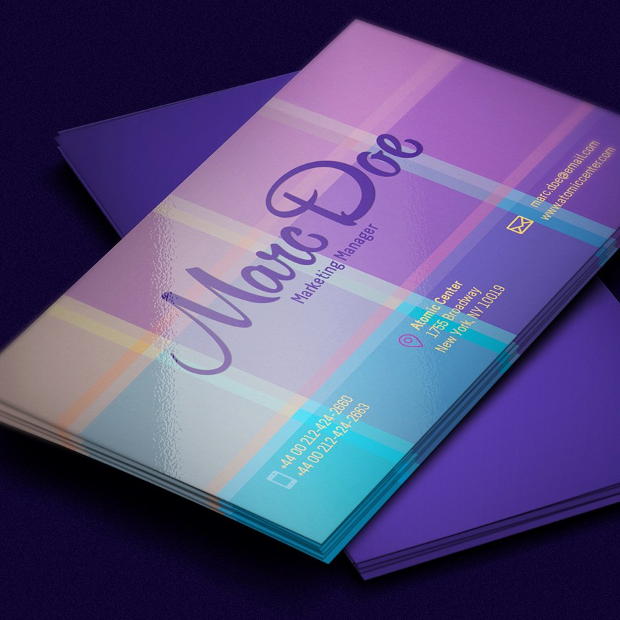 Business Card with Picture Template New 60 Ly the Best Free Business Cards 2015