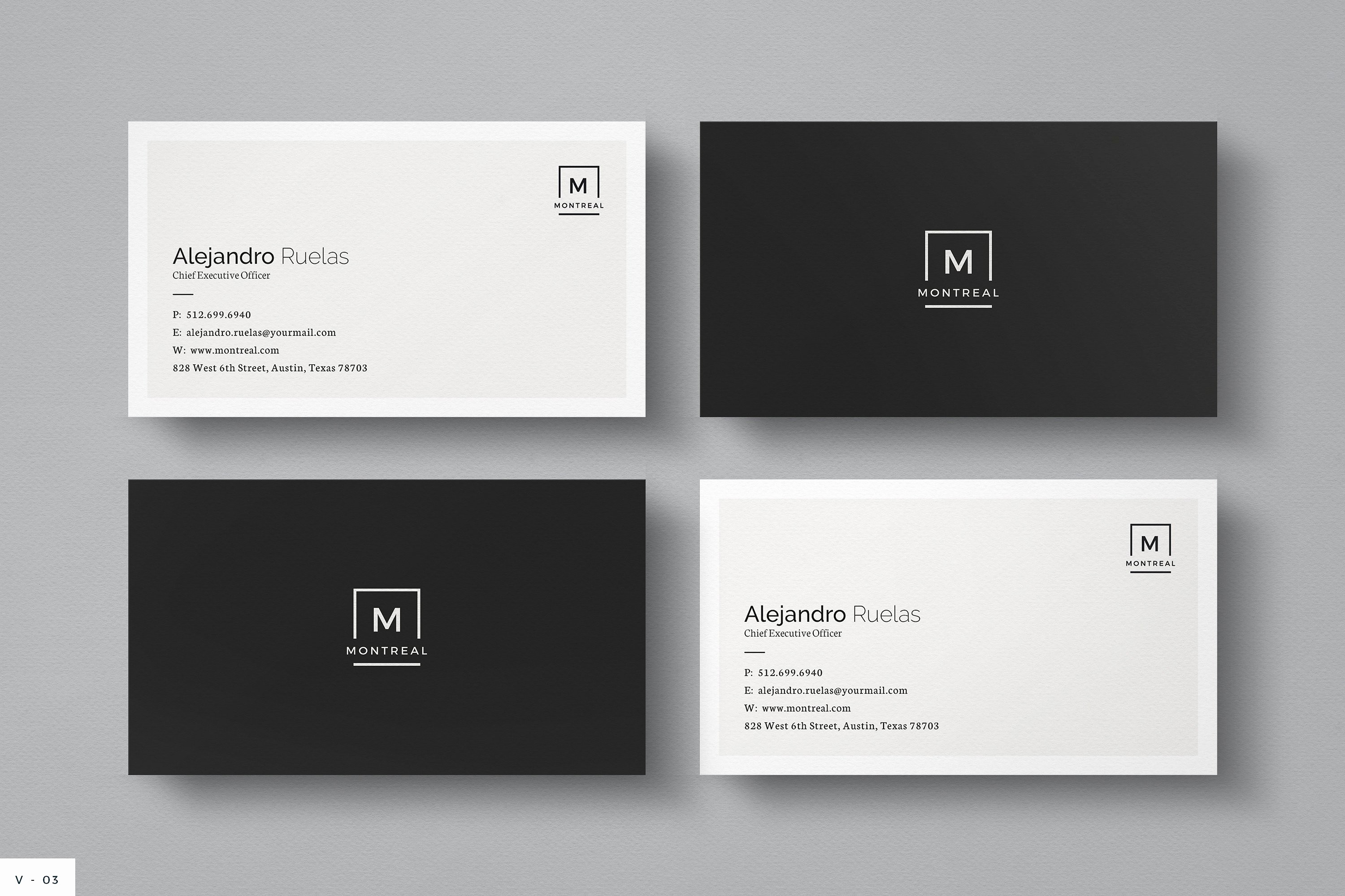 Business Card with Picture Template New Business Card Business Card Templates Creative Market