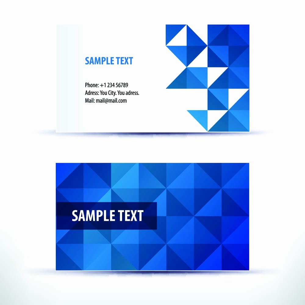 Business Card with Picture Template Unique Business Card Template Business Card Template Freepik