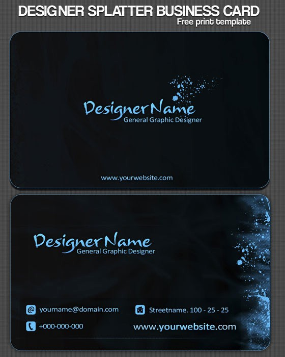 Business Cards Samples Free Download Best Of 30 Psd Business Card Templates Web3mantra