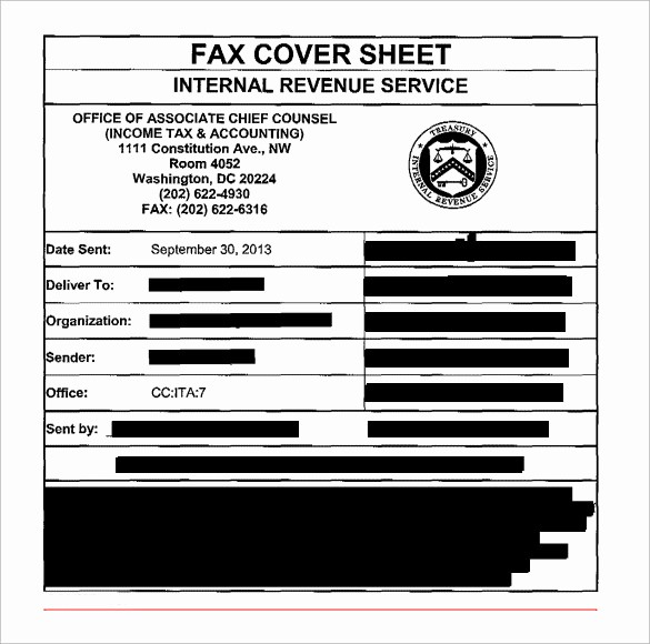 Business Fax Cover Sheet Template Fresh 11 Sample Professional Fax Cover Sheets