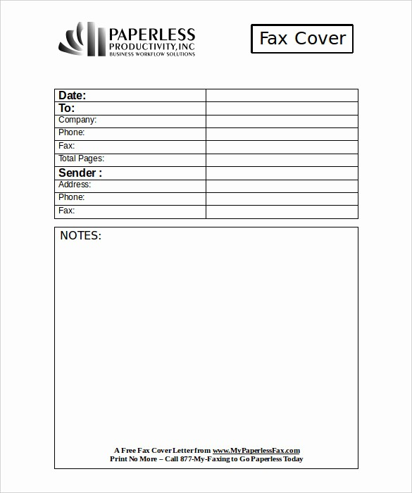 Business Fax Cover Sheet Template Fresh Professional Fax Cover Sheet 8 Free Word Pdf Documents