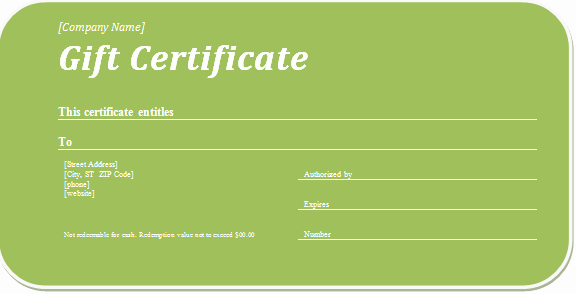Business Gift Certificate Template Word Beautiful Business Gift Certificate Template for Word