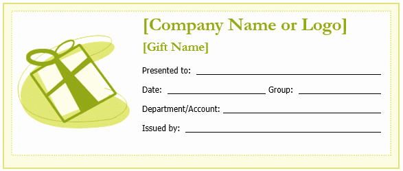 Business Gift Certificate Template Word Elegant New Editable Gift Certificate Templates