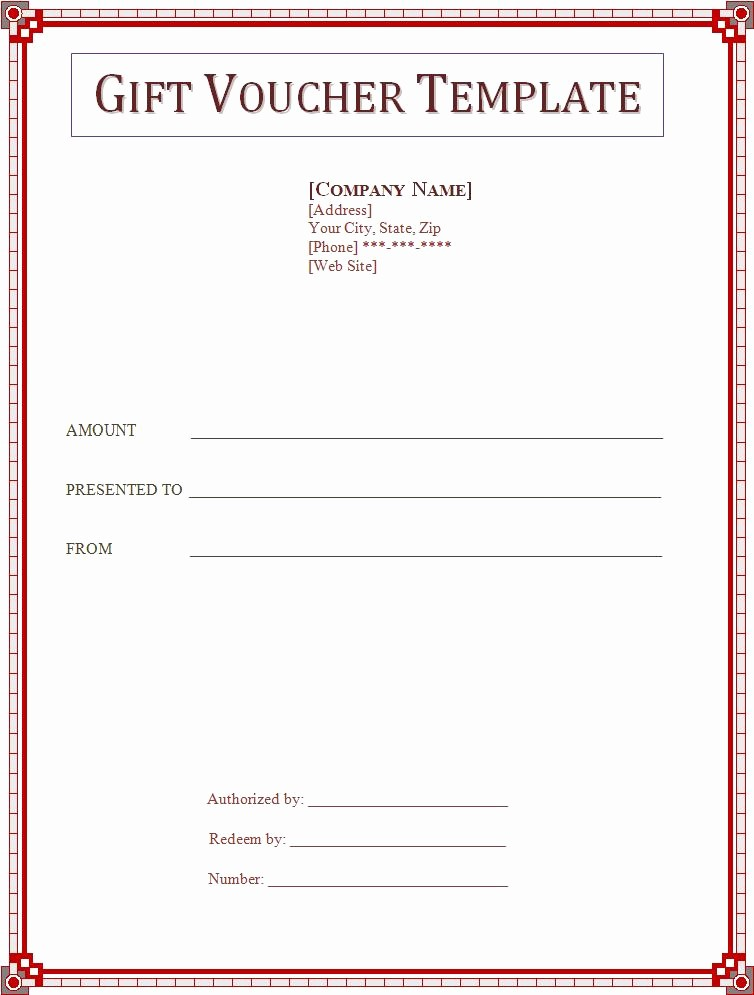 Business Gift Certificate Template Word Fresh 2 Gift Voucher Templatefree Word Templates