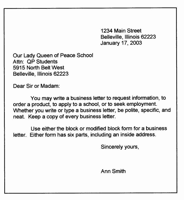 Business Letter format Microsoft Word Awesome Microsoft Word 2010 Modified Block Letter Style