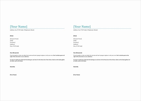 Business Letter format Microsoft Word Elegant 35 Free Download Letterhead Templates In Microsoft Word