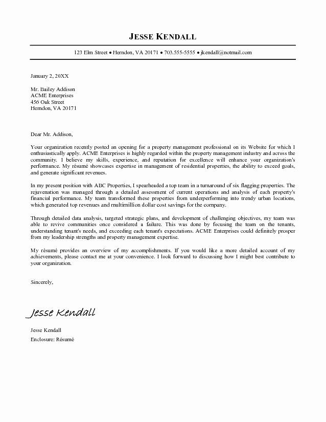 Business Letter format Microsoft Word Elegant Cover Letter Template Word Example Microsoft Word Jk