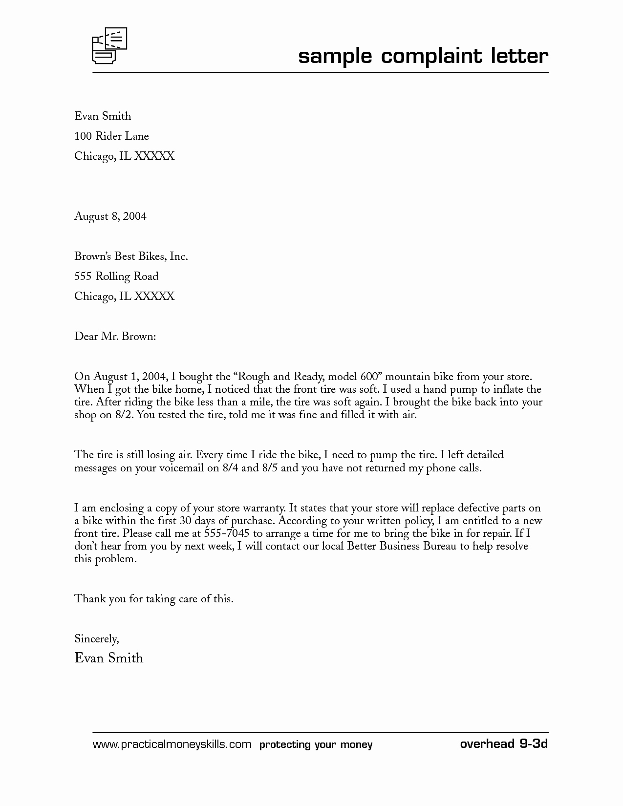Business Letter format Template Word Awesome Business Plaint Letter format Mughals