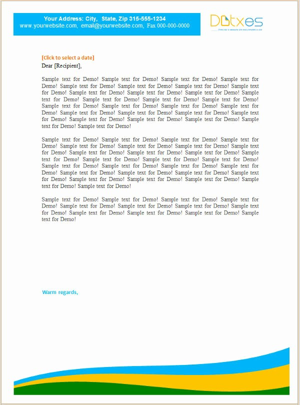 Business Letter Template with Letterhead Beautiful 9 Small Business Letterhead Templates Word Psd Vector