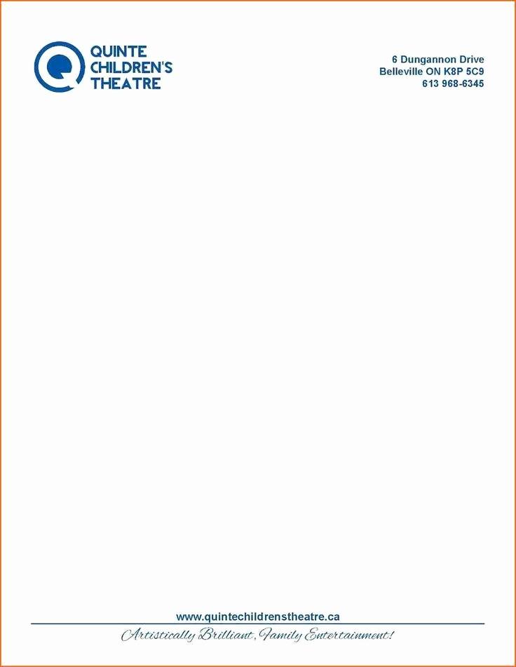 Business Letter Template with Letterhead Fresh 18 Letterhead Samples
