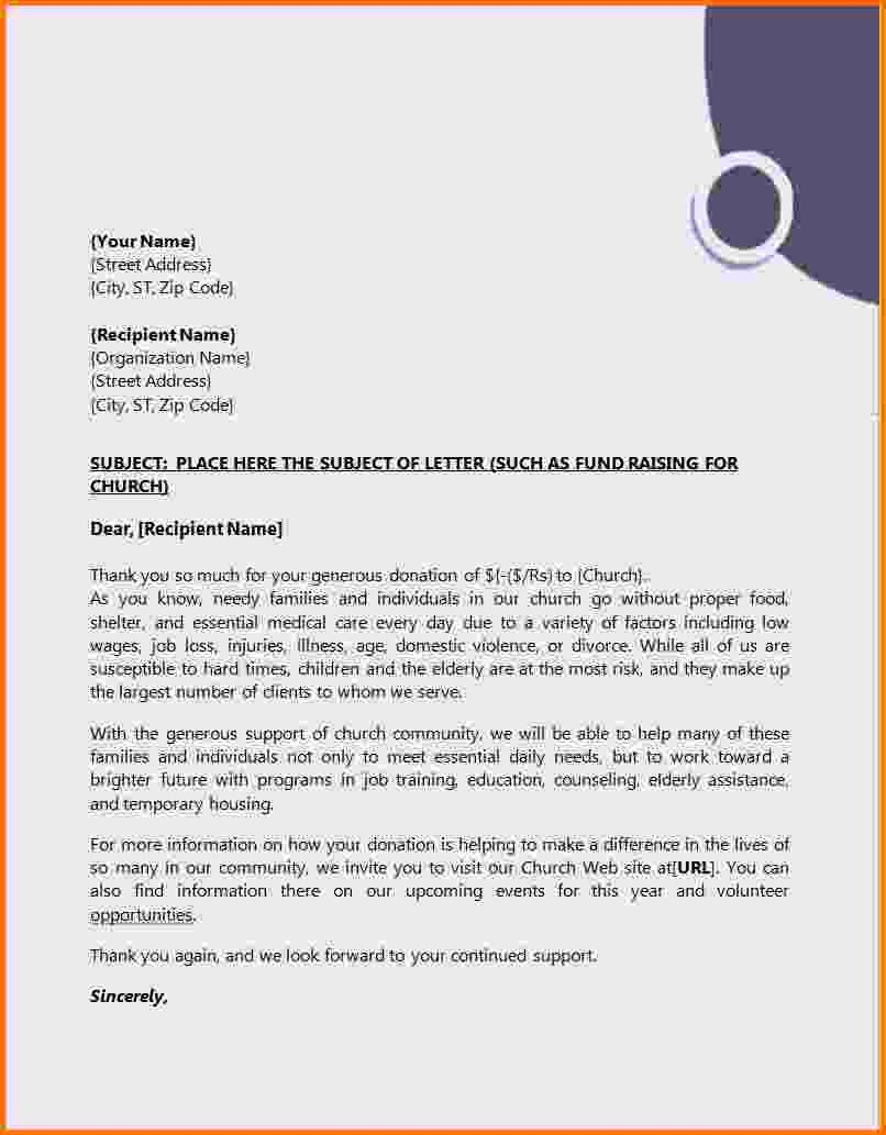 Business Letter Template with Letterhead Fresh 8 formal Letter format with Letterhead