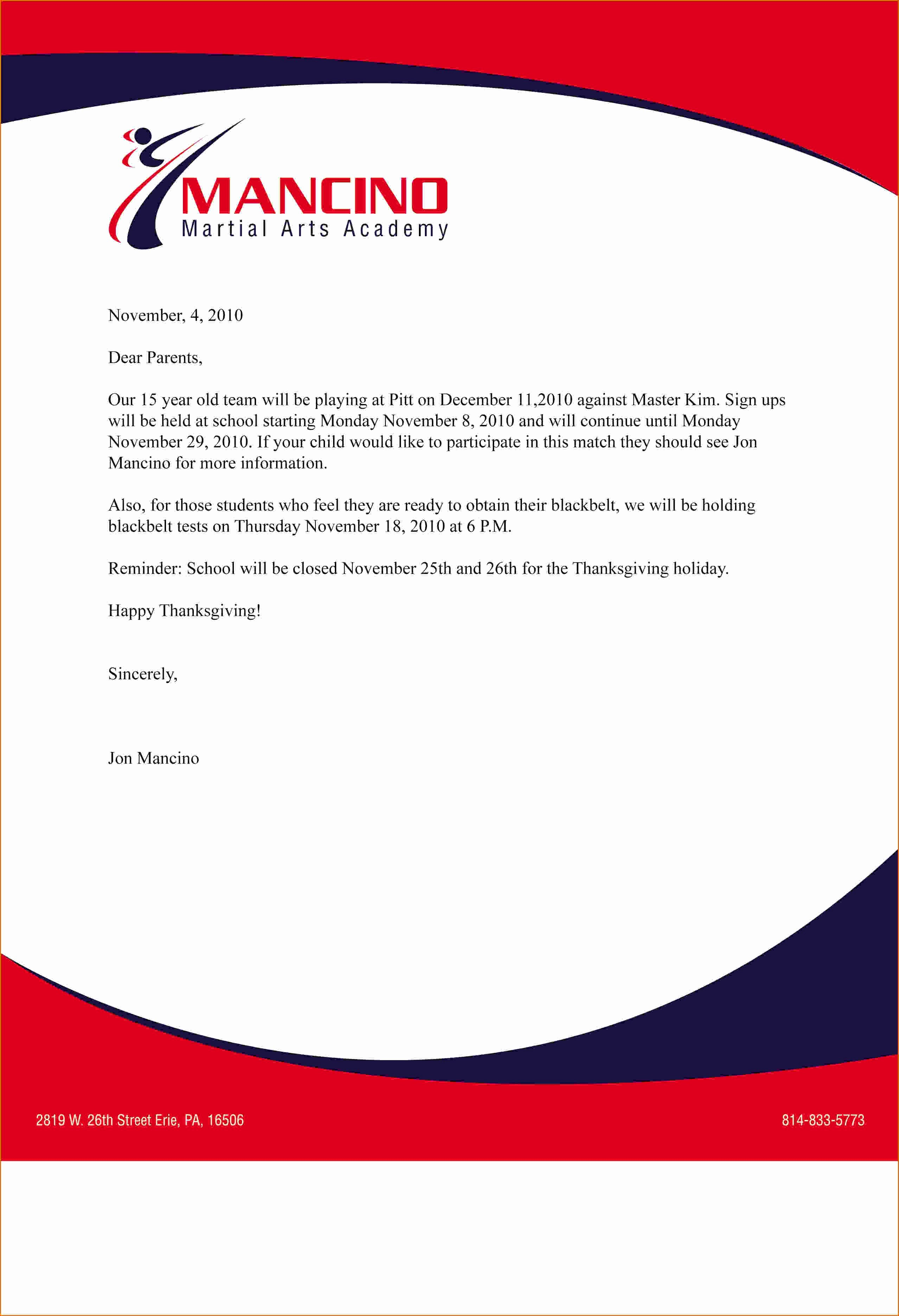 Business Letter Template with Letterhead Inspirational Pin by Amirah Dayana On Letterhead