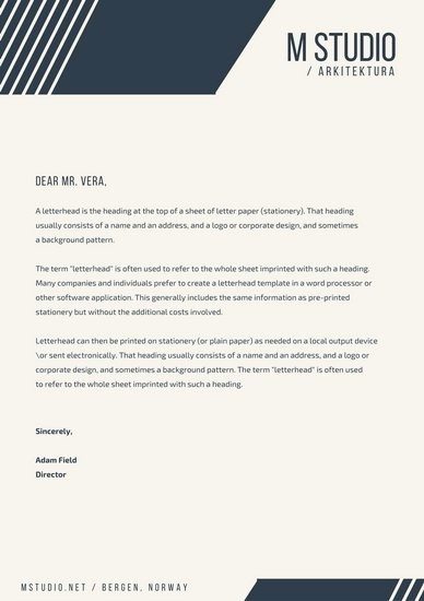 Business Letter Template with Letterhead Lovely Customize 178 Business Letterhead Templates Online Canva