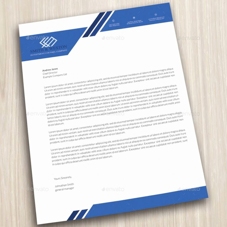 Business Letter Template with Letterhead Lovely Pany Letterhead Business Corporate Letter Head format