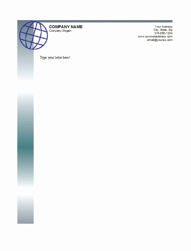 Business Letterhead Templates Free Download Awesome 46 Free Letterhead Templates & Examples Free Template