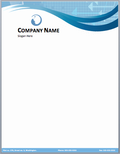 Business Letterhead Templates Free Download Beautiful 17 Pany Letterhead Templates Excel Pdf formats