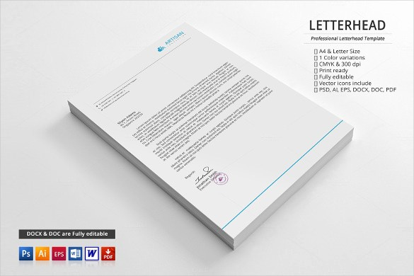 Business Letterhead Templates Free Download Best Of 20 Business Letterhead Templates – Free Sample Example