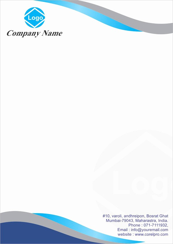 Business Letterhead Templates Free Download Elegant Letterhead Templates