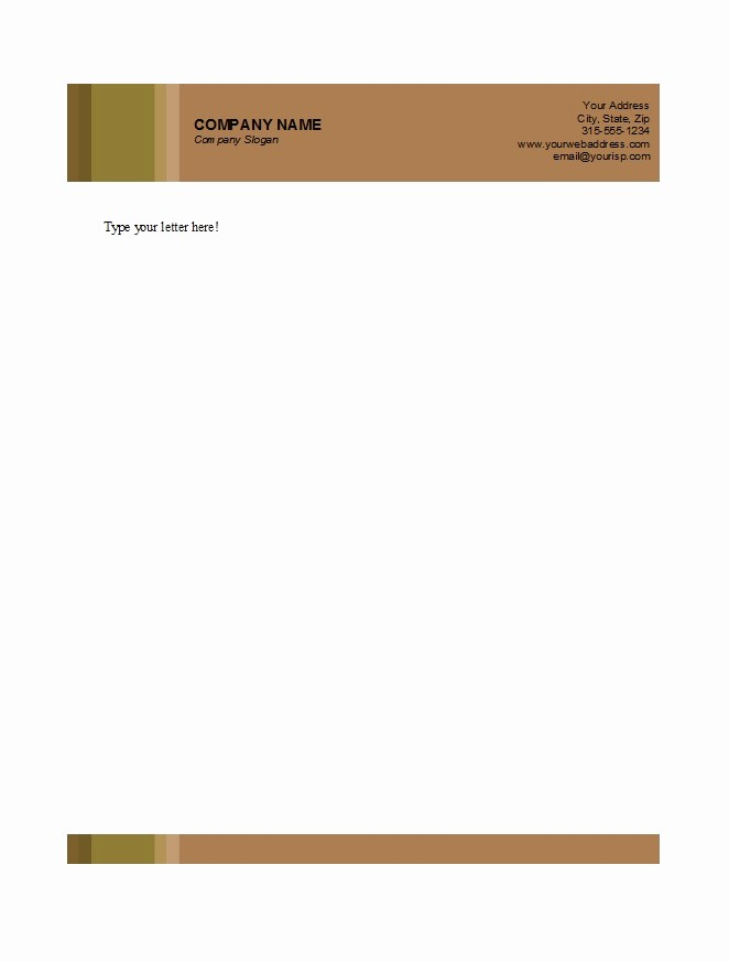 Business Letterhead Templates Free Download Fresh 46 Free Letterhead Templates & Examples Free Template