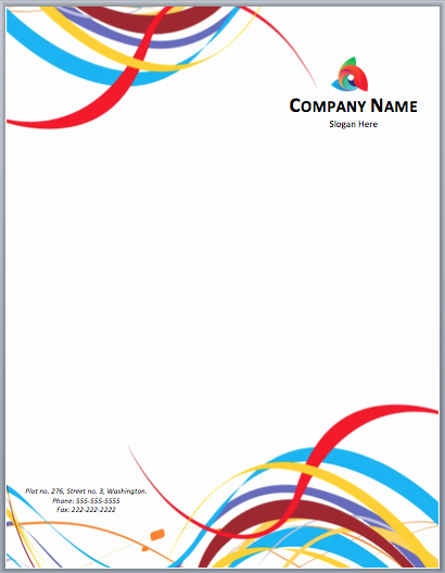 Business Letterhead Templates Free Download Fresh Free Letterhead Templates – Microsoft Word Templates
