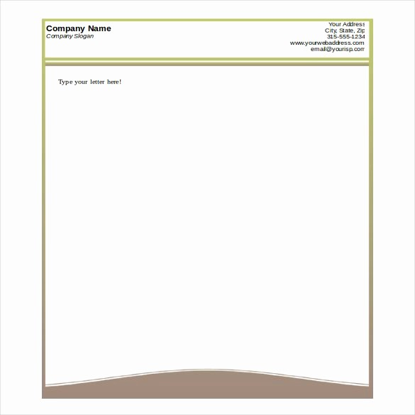 Business Letterhead Templates Free Download Inspirational 35 Free Download Letterhead Templates In Microsoft Word